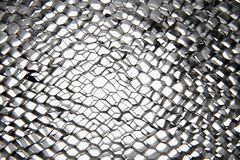 Hexagon steel texture background Stock Photo