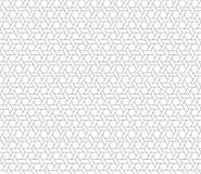 Hexagon ster naadloze achtergrond vector illustratie