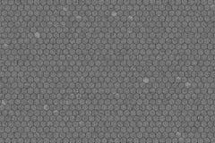 Hexagon strook zwart & wit b&w patroon, textuur voor ontwerpachtergrond stock afbeeldingen