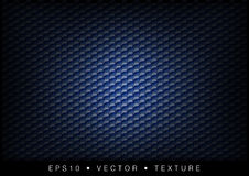 Hexagon texture. Blue texture - small hexagon shapes Royalty Free Stock Images