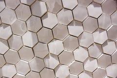 Hexagon Tiles Stock Photo