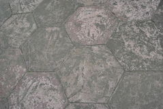 Hexagon tiles. A couple of hexagon tiles royalty free stock images