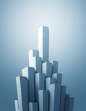 Hexagon tower Royalty Free Stock Photography