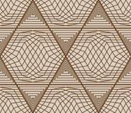 Hexagon 6 triangle net seamless pattern Royalty Free Stock Photo