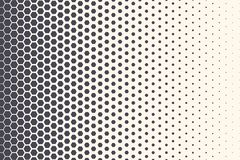 Hexagon Vector Abstract Technology Background. Hexagon Vector Abstract Geometric Technology Background. Halftone Hex Retro Simple Pattern. Minimal Style Dynamic vector illustration