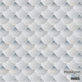 Hexagon vector als achtergrond Royalty-vrije Stock Fotografie