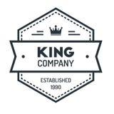Hexagon Vintage Hipster Badge Logo Design Template Vector Symbol Royalty Free Stock Photography