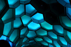 Hexagon Vivid Sydney 2014 Stock Photography
