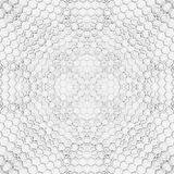 Hexagon wall Royalty Free Stock Photos