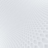 Hexagon wall Stock Photos
