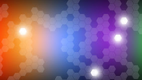 Hexagon Wallpaper Stock Photography