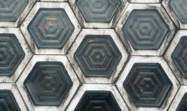 Hexagon Windows (1) Stock Photography