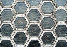 Hexagon Windows (2) Royalty Free Stock Photos