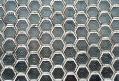 Hexagon Windows (3) Stock Photo