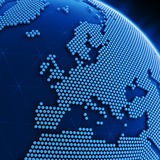 Hexagon world Stock Image
