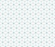 Hexagonal abstract connection vector seamless patt Stock Photo