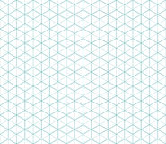 Hexagonal abstract connection vector seamless patt Stock Photos