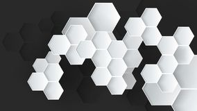 Hexagonal abstract vector background vector illustration
