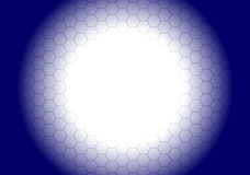 Hexagonal Background Royalty Free Stock Photo
