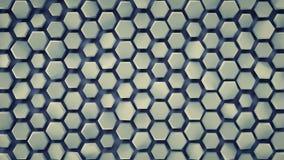 Hexagonal background abstract 3D render. Hexagonal background. Computer generated abstract graphics. 3D render vector illustration