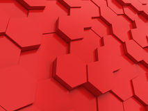 Hexagonal background Royalty Free Stock Image