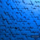 Hexagonal  background. Technology impression. Minimal pattern. grid distortion. Hexagonal  background. Technology impression. Minimal pattern for web Royalty Free Illustration