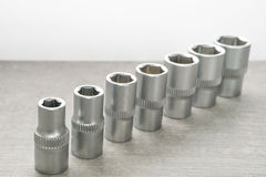 Hexagonal bit Stock Images