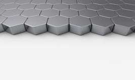 Hexagonal building bricks Royalty Free Stock Photo
