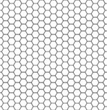 Hexagonal cell texture. Honey hexagon cells, honeyed comb grid grill texture and geometric hive honeycombs, mosaic or speaker. Fabric shape seamless pattern stock illustration