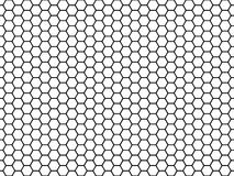 Hexagonal Cell Texture. Honey Hexagon Cells, Honeyed Comb Grid Texture And Honeycombs Fabric Seamless Pattern Vector Royalty Free Stock Photography