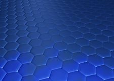 Hexagonal floor Royalty Free Stock Images