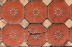 Hexagonal Floor Tiles Stock Images
