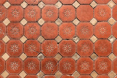 Hexagonal Floor Tiles Stock Image