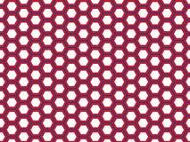 Hexagonal Geometric Design stock illustration
