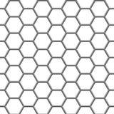 Hexagonal Grid Stock Image