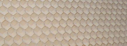 Hexagonal honeycomb texture. Pattern Royalty Free Stock Photography