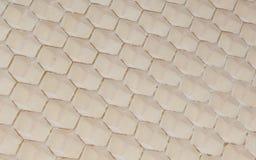 Hexagonal honeycomb texture. Pattern Royalty Free Stock Photo