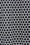 Hexagonal iron mesh for background Royalty Free Stock Photo