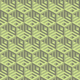 Hexagonal lines pattern. Abstract 3d background Royalty Free Stock Photo