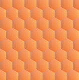 Hexagonal low poly background Stock Photography