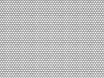 Hexagonal metal texture mesh. 3D rendered illustration of a hexagonal metal mesh texture. The composition is isolated on a white background royalty free illustration