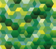 Hexagonal pattern, Abstract background Stock Photo