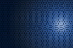 Hexagonal pattern background. Stock Photo