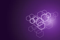 Hexagonal pattern background. Royalty Free Stock Photography