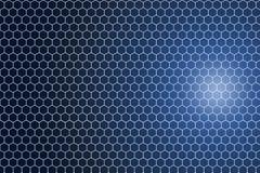 Hexagonal pattern background. Stock Photos