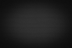 Hexagonal pattern on a black background Royalty Free Stock Photography