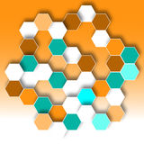 Hexagonal Pattern Royalty Free Stock Photo