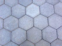 Hexagonal pieces Stock Image