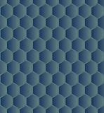 Hexagonal seamless Royalty Free Stock Photos