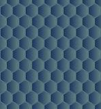 Hexagonal seamless Royalty Free Stock Photos